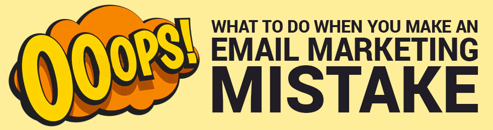 email marketing mistake