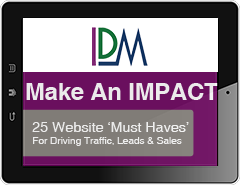 25 Website 'Must Haves' for Driving Traffic, Leads and Sales