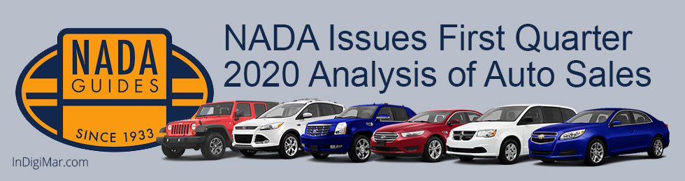 NADA Issues First Quarter 2020 Analysis of Auto Sales
